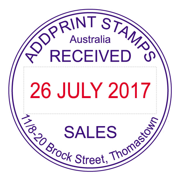 Shiny Date Stamps Australia Addprint Rubber Stamps